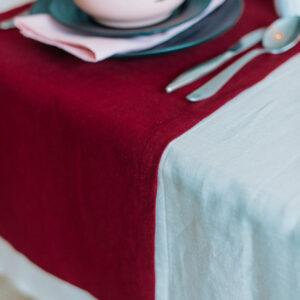 Caminho de mesa cakeshop bordeaux