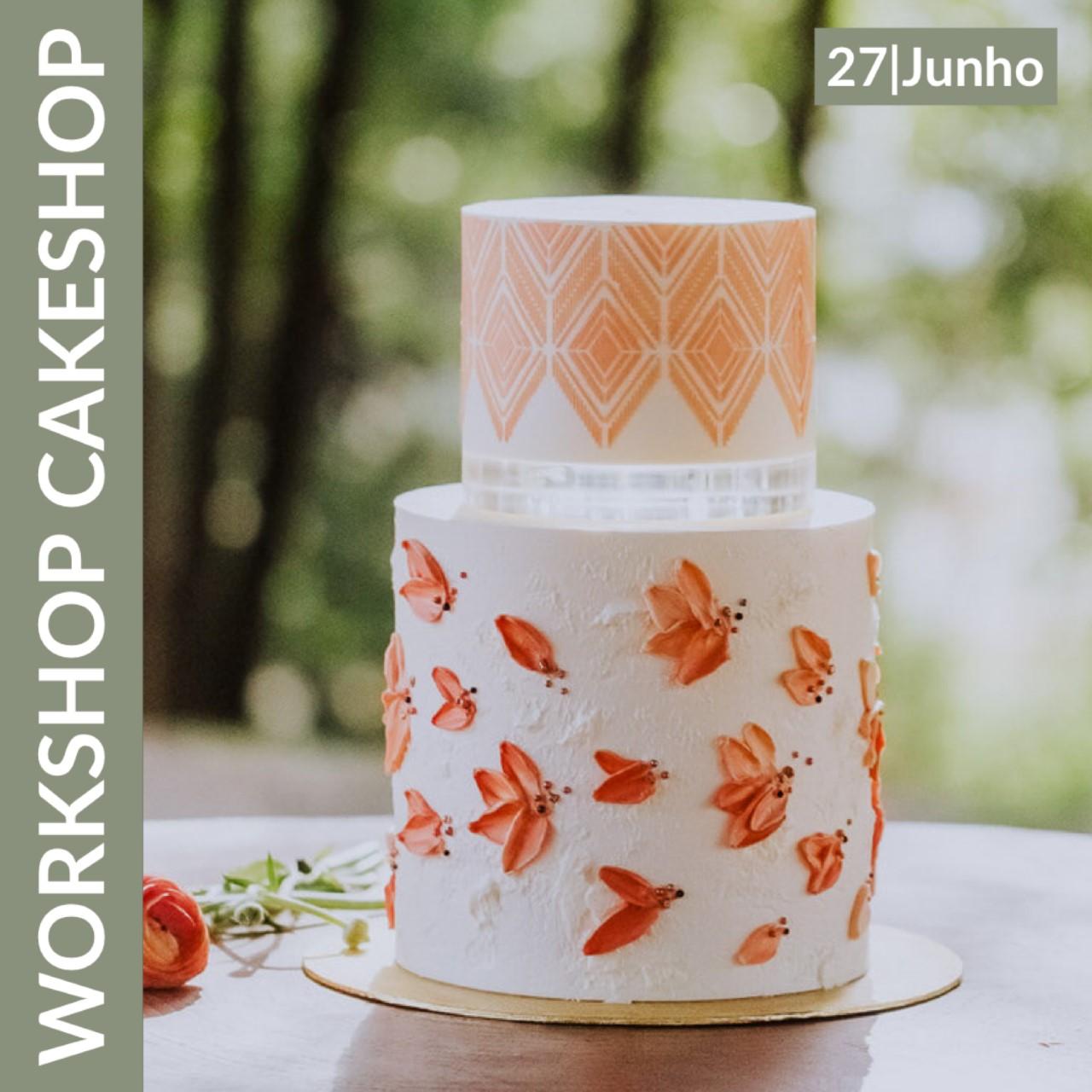 Workshop de Bolo de Casamento em Buttercream