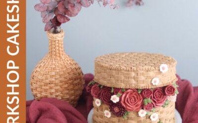 Workshop Cesto de Flores em Buttercream