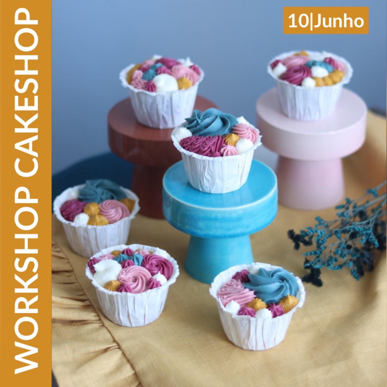 Workshop Cupcakes decorados com buttercream