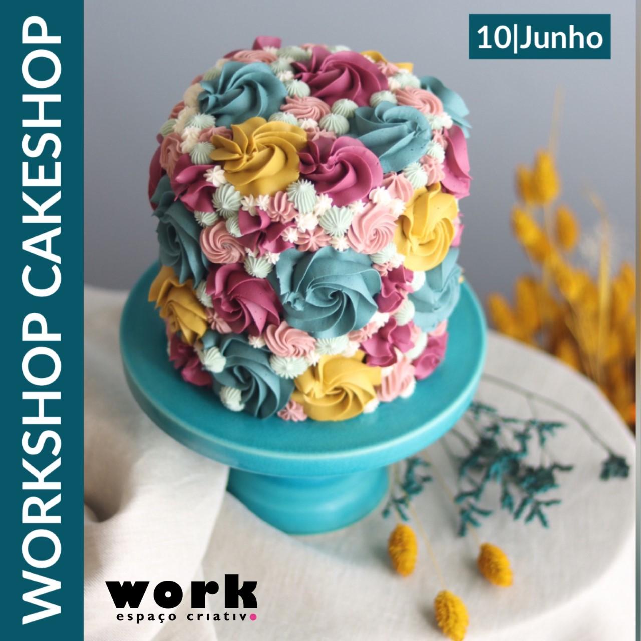 Workshop de Iniciação ao Cake Design em Buttercream